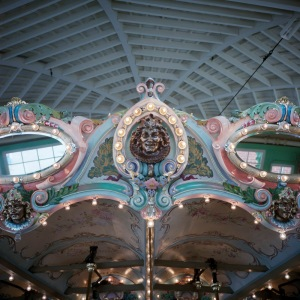 Faces of the Dentzel Carousel