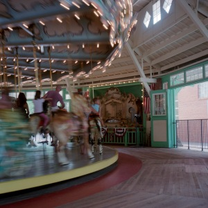 The Dentzel Carousel in motion
