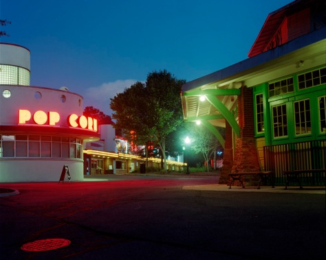 Glen Echo Carousel, Midway, Twilight