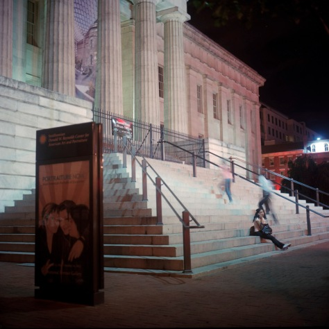 Steps, National Portrait Gallery, 7th Street