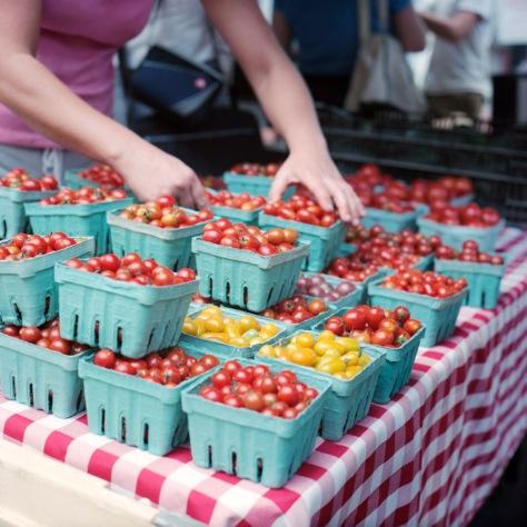 Tomatoes, Penn Quarter Farmers Market