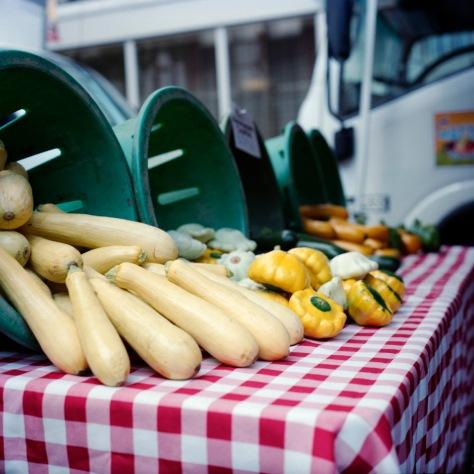 Mixed Squashes, Penn Quarter Farmers' Market