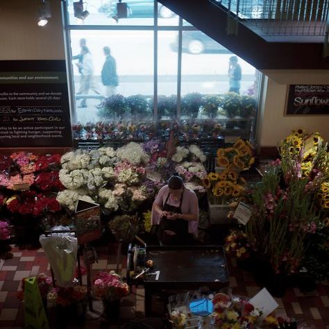 Flower stall, Whole Foods Market, P Street