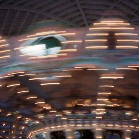 Glen Echo Carousel in Motion, #1