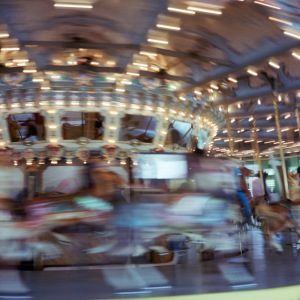 Glen Echo Carousel in Motion, #3