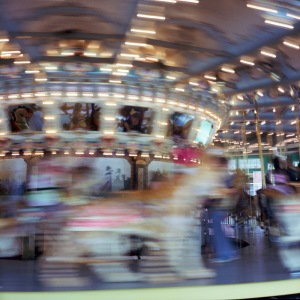 Glen Echo Carousel in Motion, #4