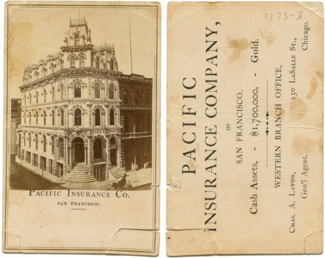Pacific Insurance Company, San Franciscoq