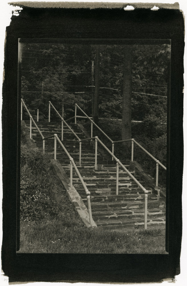 Trolley Stairs, Glen Echo Park
