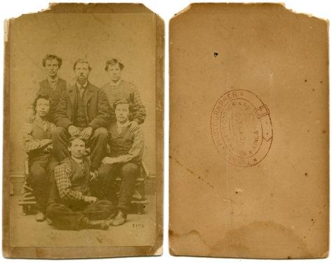 Six Men, by Turner of Toronto