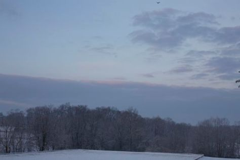 Dawn Sky, Christmas Day 2012
