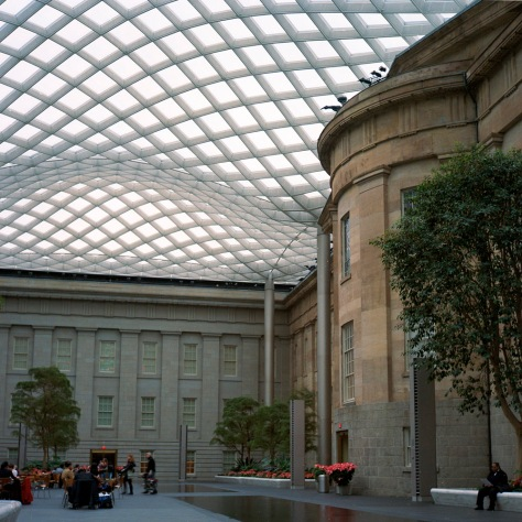 Kogod Courtyard, Southeast View, Day