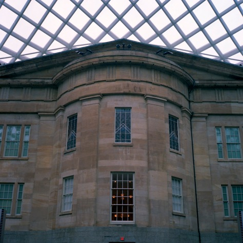 Kogod Courtyard, South View, Day