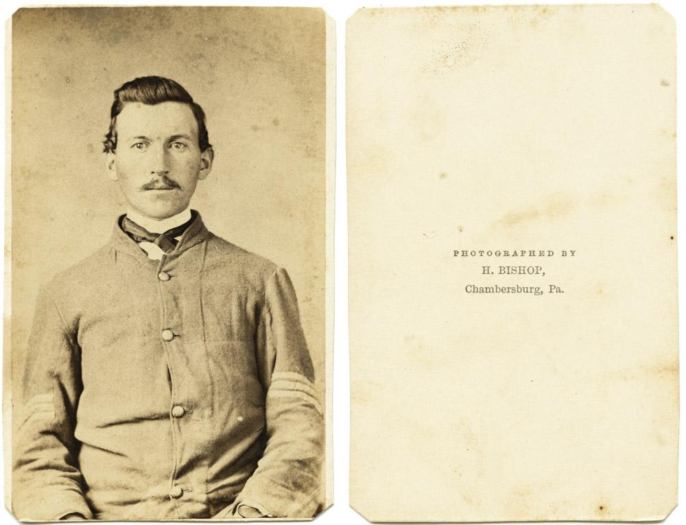 Unknown Sergeant, Chambersburg, PA ca. 1861-62