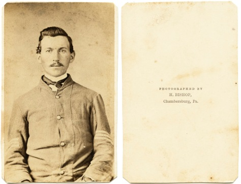 Unknown Sergeant, Chambersburg, PA ca. 1861-62