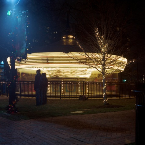 Franklin Square Carousel in Motion