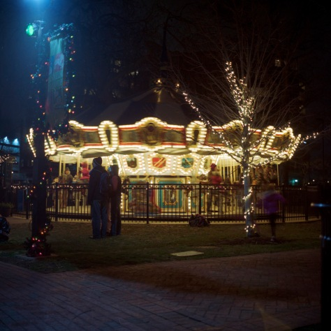 Franklin Square Carousel, Stopped