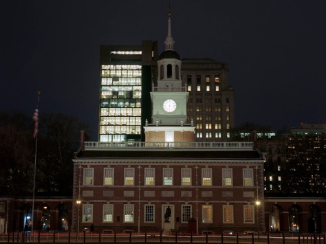 Independence Hall, New Years Eve