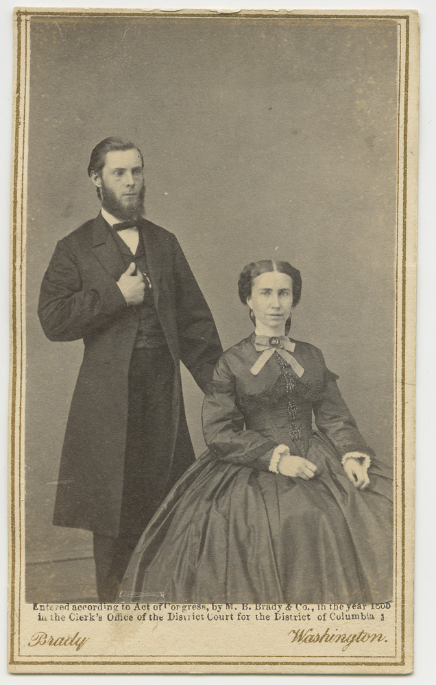 John J. Elwell and Clara Barton, Washington DC