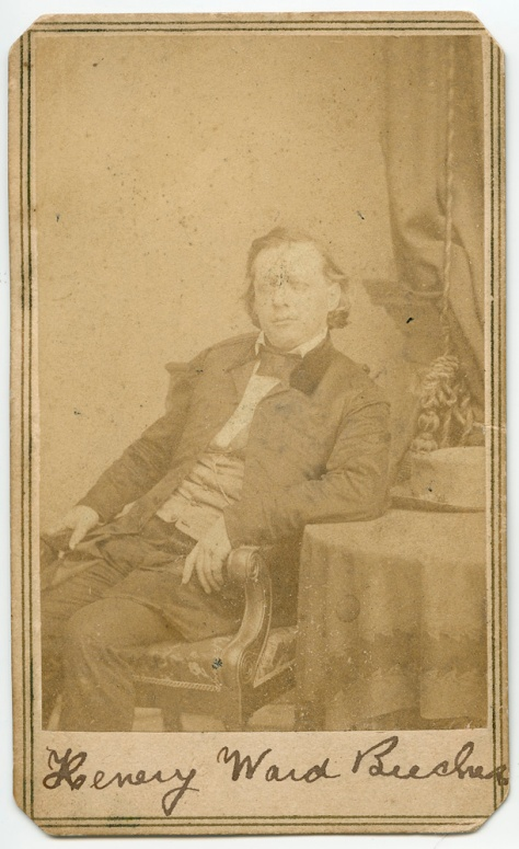Henry Ward Beecher, by Brady