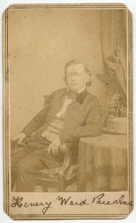 Henry Ward Beecher, by Brady