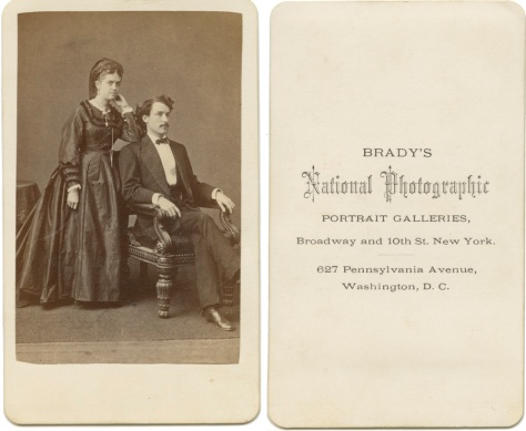 Anonymous Couple, Brady's New York Studio