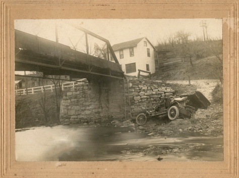 Riverside Car Wreck ca. 1905