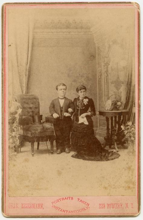 Major Littlefinger & Wife, by Eisenmann