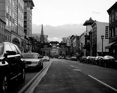Chinatown Arch, Sunset