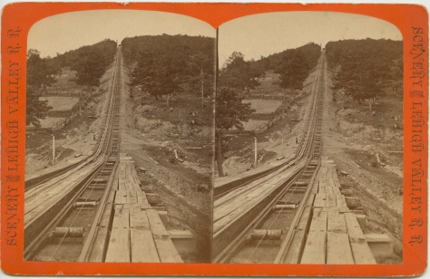 Switch Back RR, Lehigh Valley Railroad