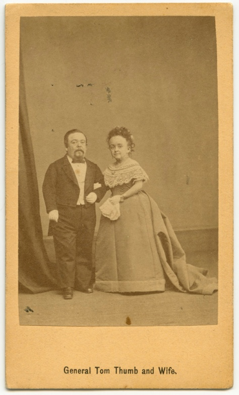 Tom Thumb and Lavinia Warren, in middle age