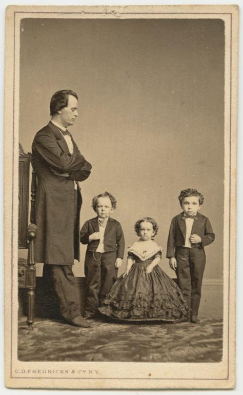Three little people, by CD Fredricks