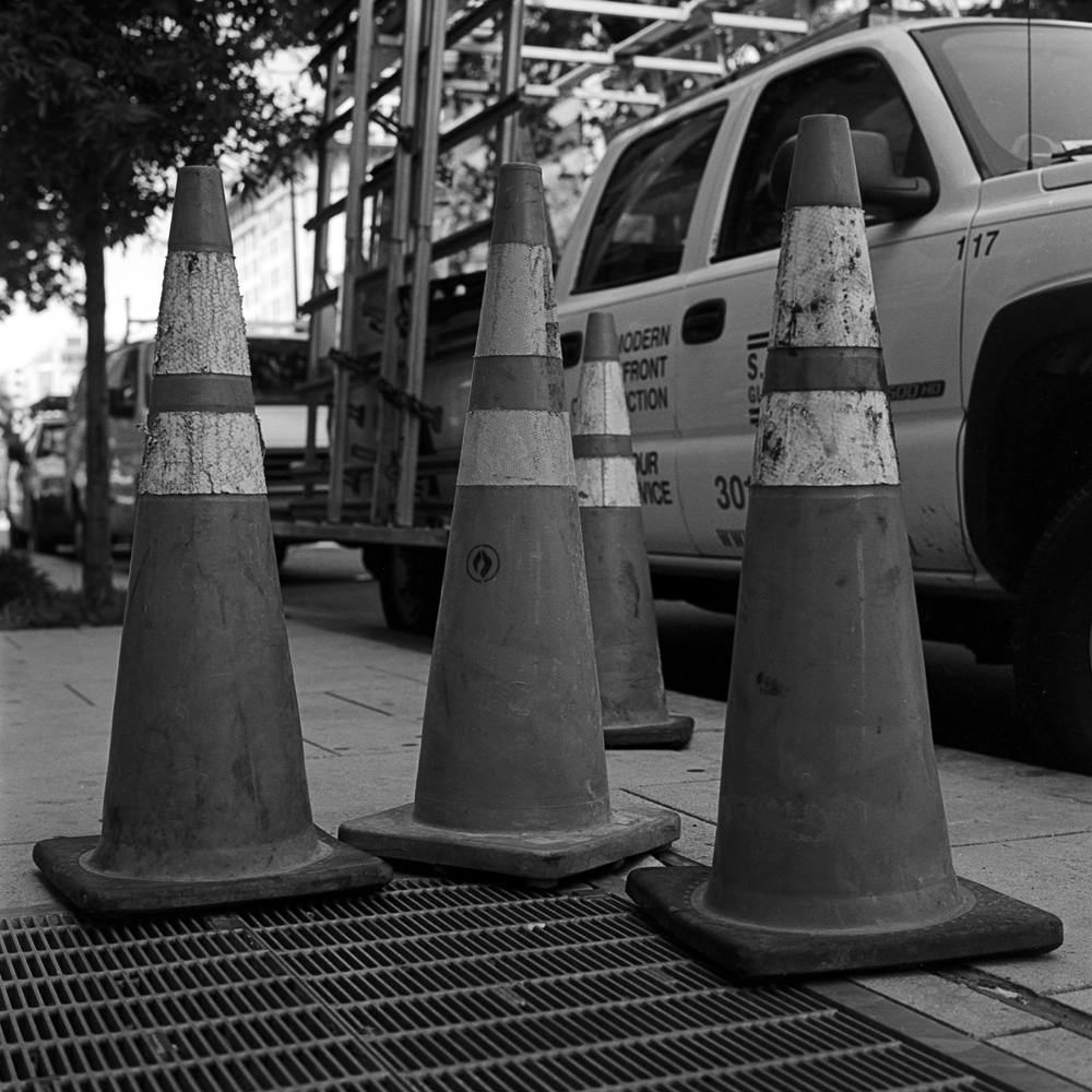 Traffic Cones - Family Group