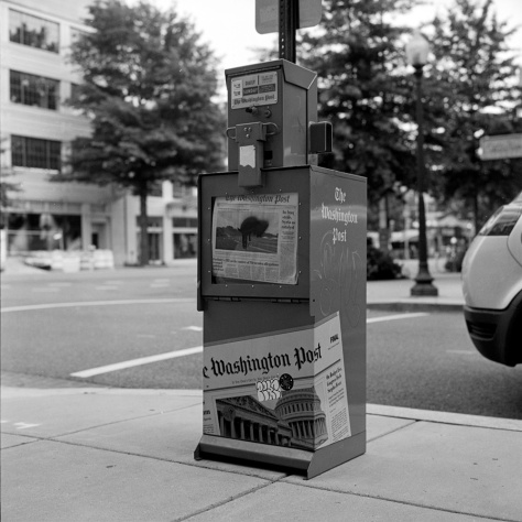 Everyday Objects- Washington Post Paper Box