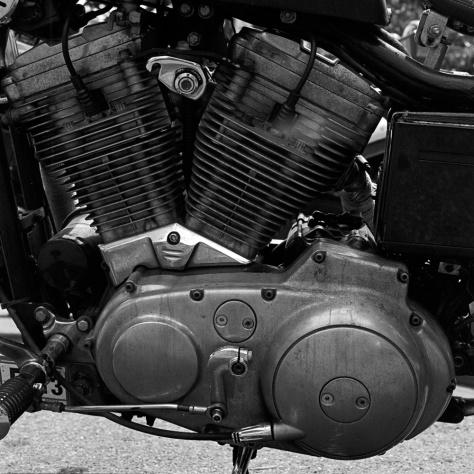Old Harley Motor