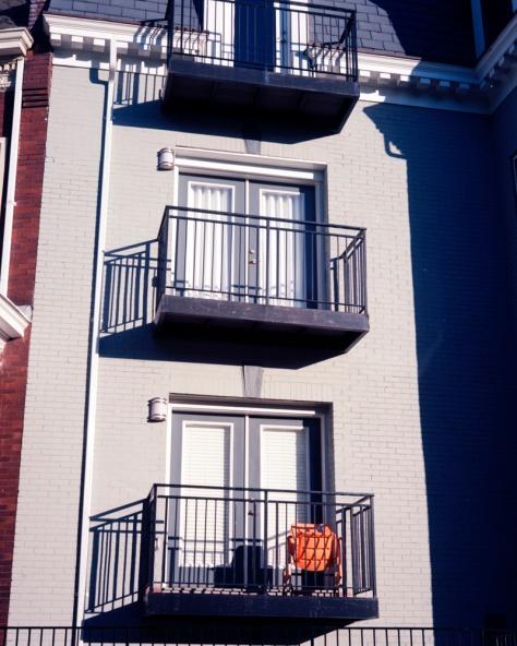 Orange Chair, 13th Street
