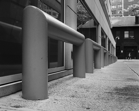 Security Bollards, Greene Alley
