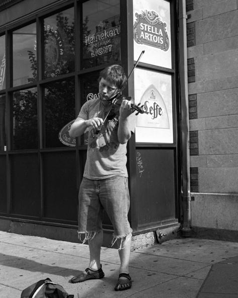 Violinist, Dupont Circle