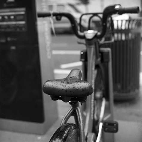 Wet Bike Seat