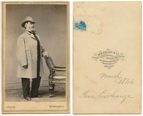 Gentleman, March 1866, Mathew Brady Studio, Washington DC