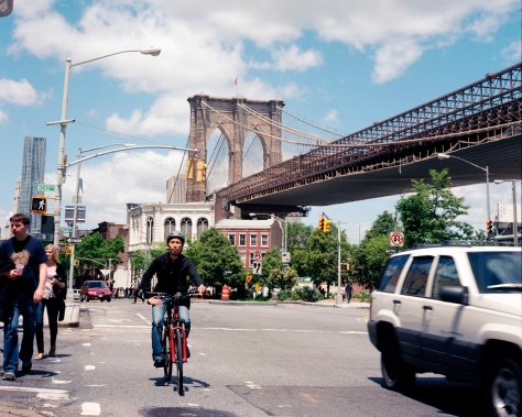 Brooklyn Bridge at Hicks St