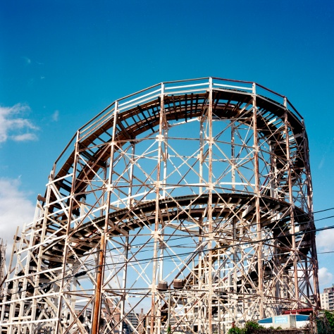End View, The Cyclone, Coney Island