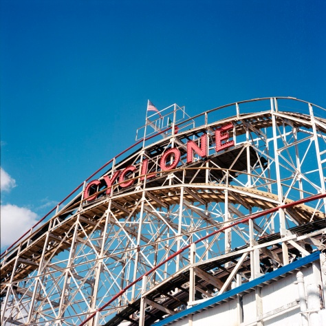 Cyclone Coaster, Luna Park, Coney Island