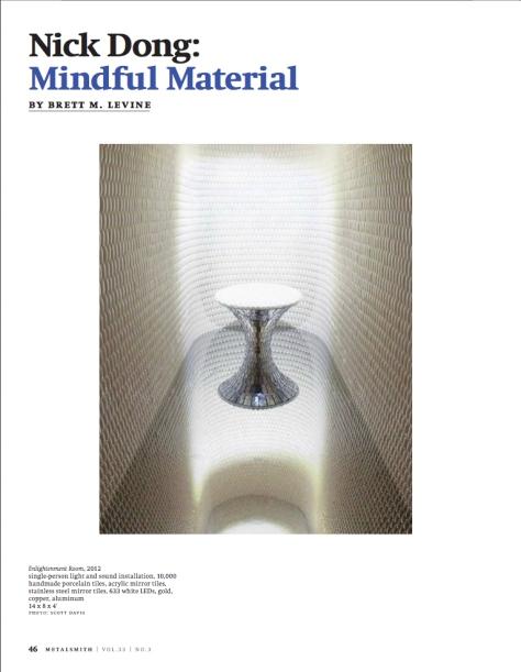 Metalsmith, June 2013, p.46