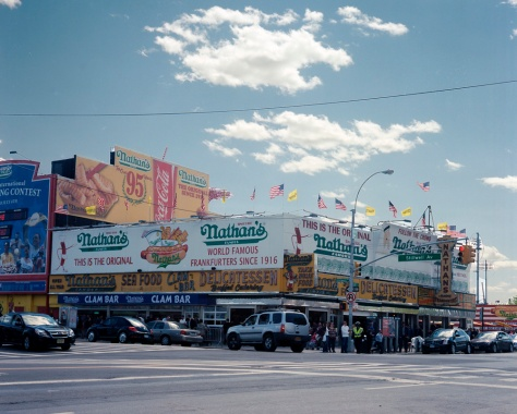 Nathan's Hot Dogs, Coney Island