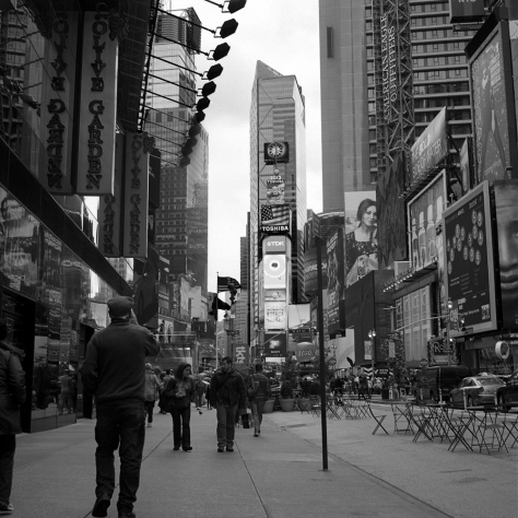 Times Square, from Broadway