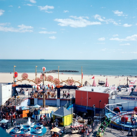 Luna Park, The Beach, From the Wonder Wheel