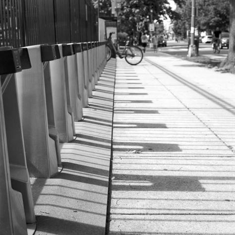 Bike Rack, 11th St. Northbound