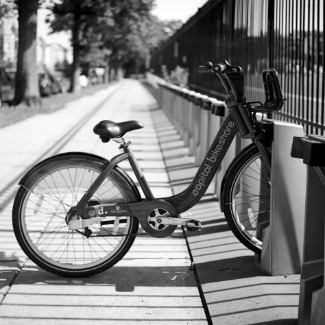 Bike Share Rack, 11th Street