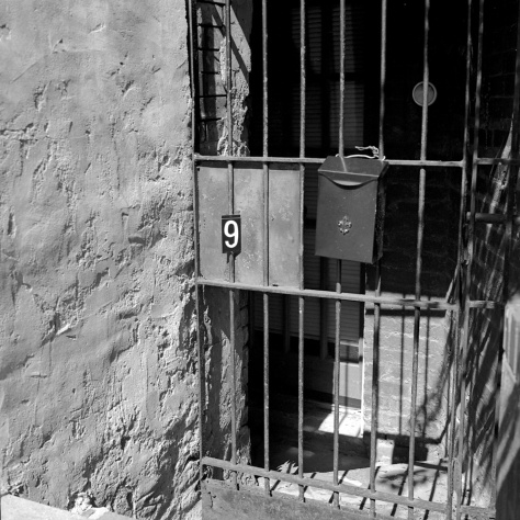 Number 9, Basement Door