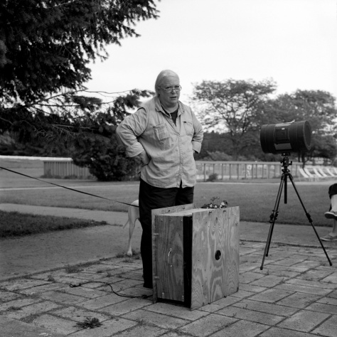 Judy Sherrod, Pinhole Camera Demo